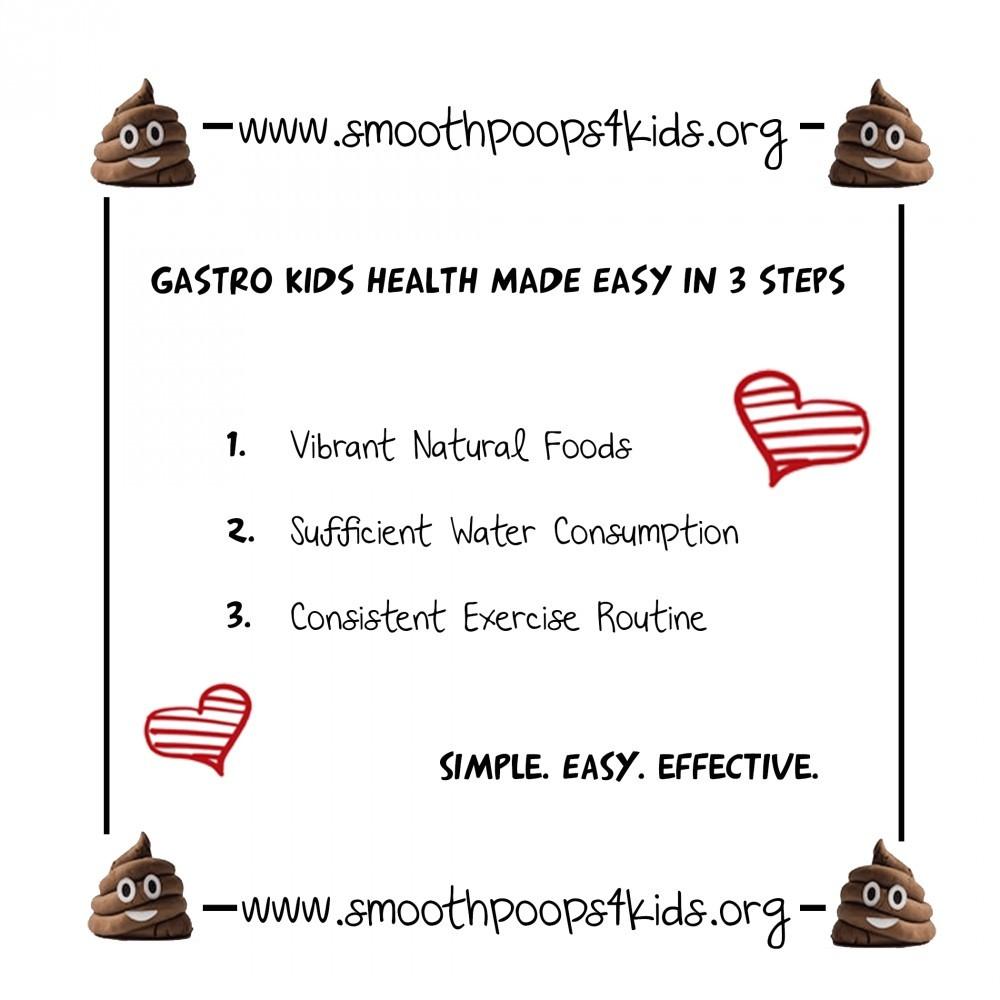 steps to kids health