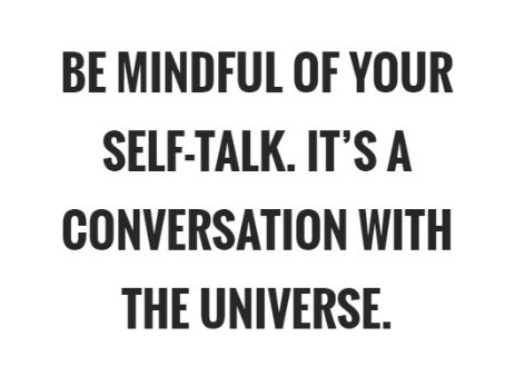 mindful of self talk