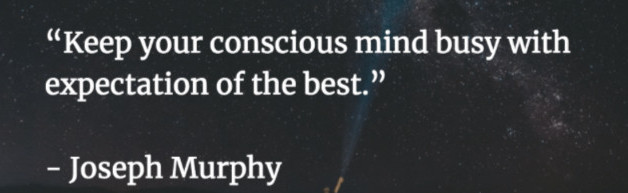 The power of the conscious mind