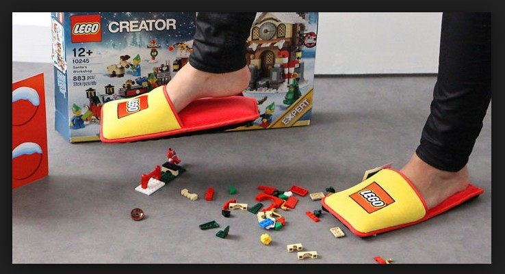 the lego slipper