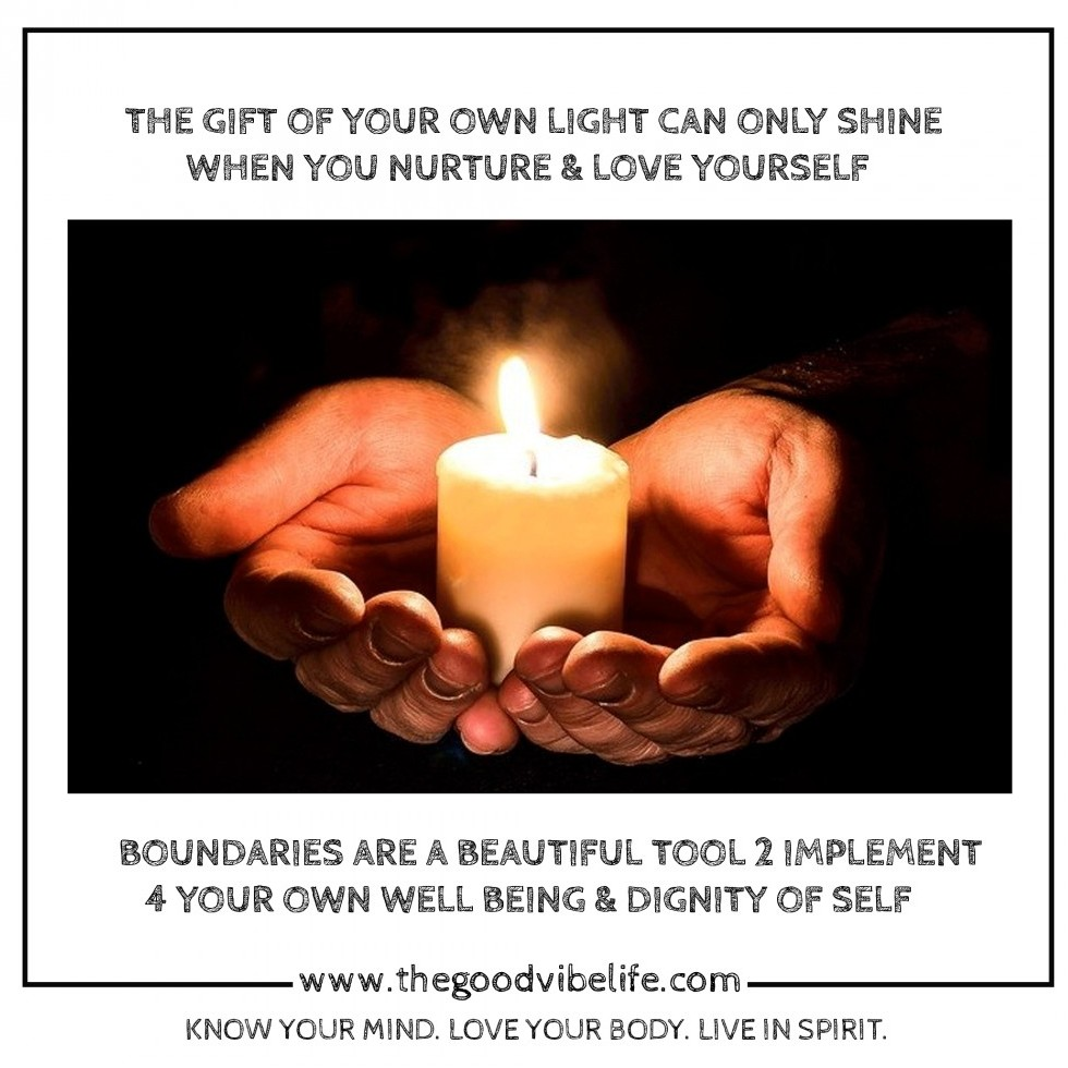 the gift of your own light