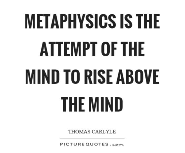 Metaphysics expands the mind