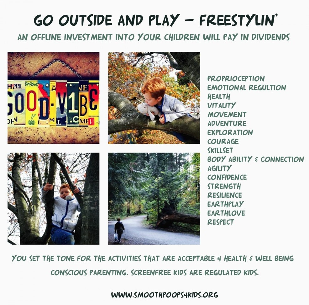 outside to play freestyle