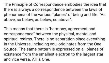 correspondance law meaning