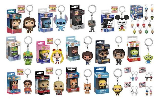 funko pop key chain madness