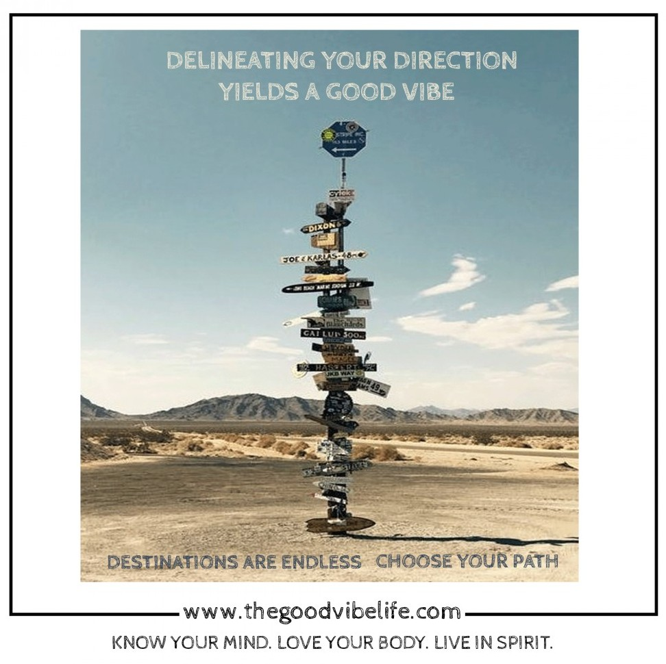 delineate your direction