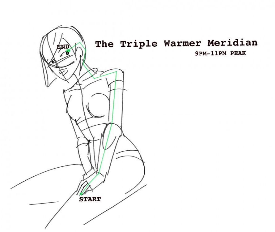 The triple warmer meridian