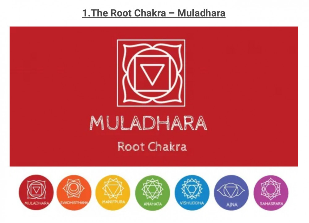 The energy of the root chakra