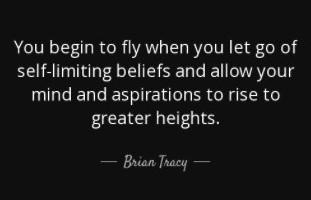 let go of self limiting beliefs
