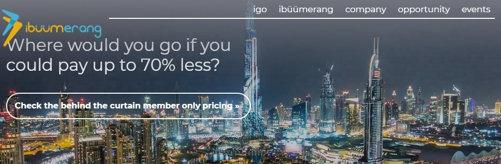 iBuumerang's Frontpage