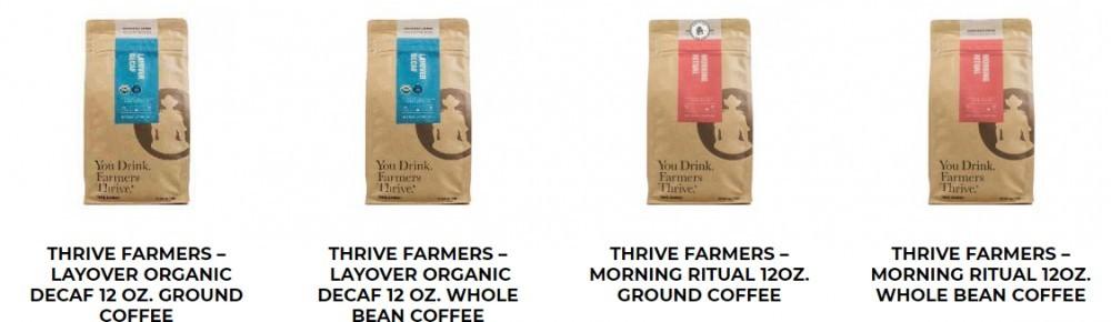 Bonvera's Thrive Coffee