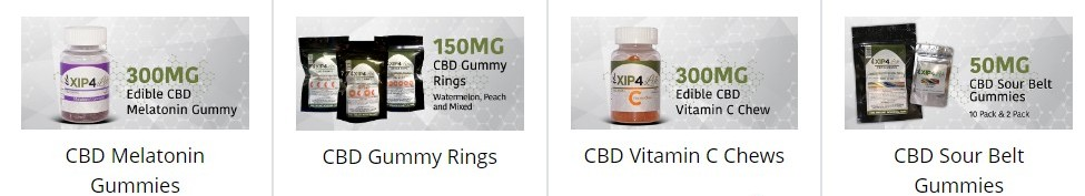 CBD products by Xip4Life