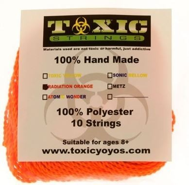 Toxic strings orange