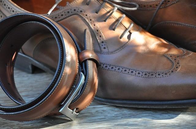 matching dress belt and shoe