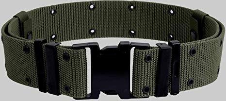 Military pistol belt