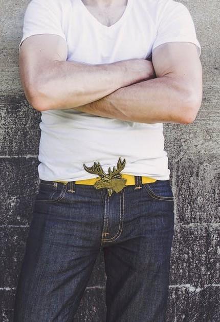 casual belt for men