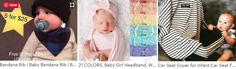 Etsy Baby Accessories