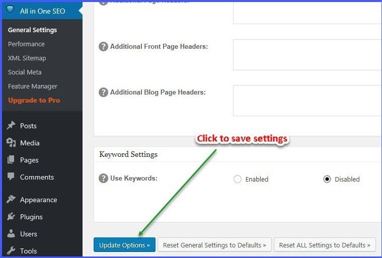 Pinterest site verification - Update options