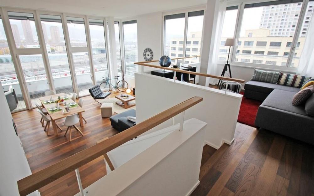 Pinside Luxury Penthouse Zurich
