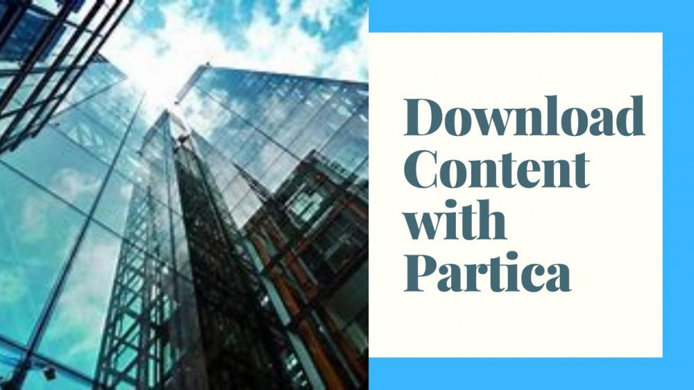 Content the Partica way