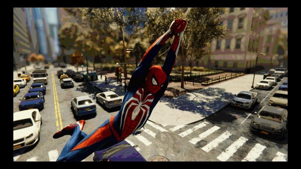 Swinging through New York