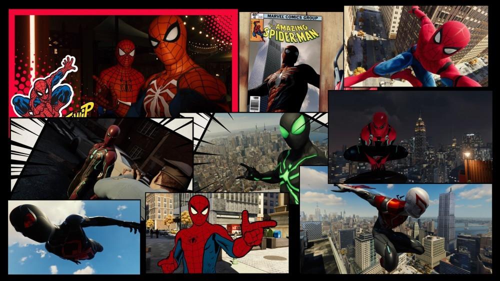 Spider-Man Photomode