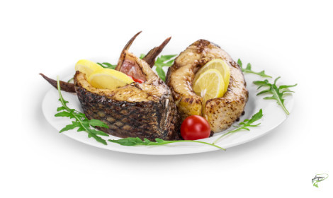 Can you eat carp - prepared carp dish on plate