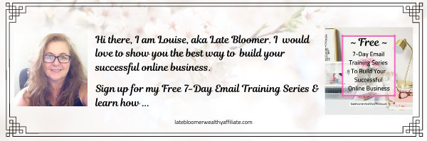 Free 7 Day Email Training Series To Build Your Online Business