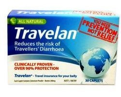 Travelan Prevention For Motion SIckness