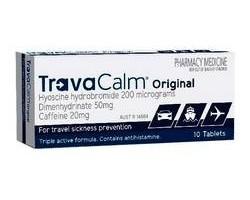 Travacalm Original Tablets For Motion Sickness