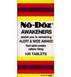 No Doz Awakeners - Alert ANd Wide Awake