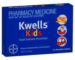 Kwells Kids Travel Sickness Prevention Tablets