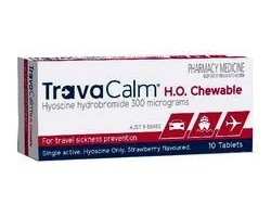 Cheweable Tablets For Travel Sickness Relief - Great For Kids