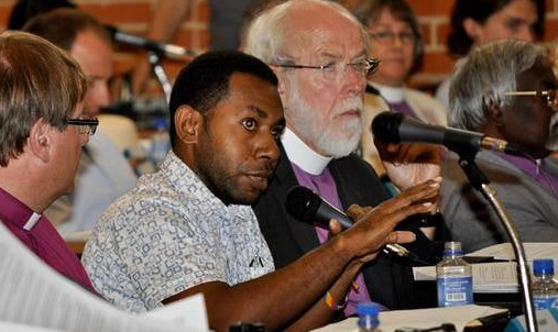 Story of a PNG Youth Took Up Post at the Council of the Lutheran World Federation (LWF)