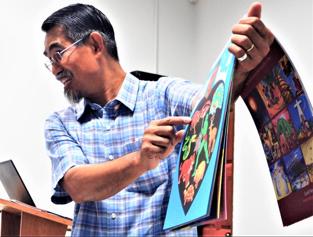 Rev Narong Tongsuk - Project Philip Training at City Gate Church, Chiangmai Thailand.