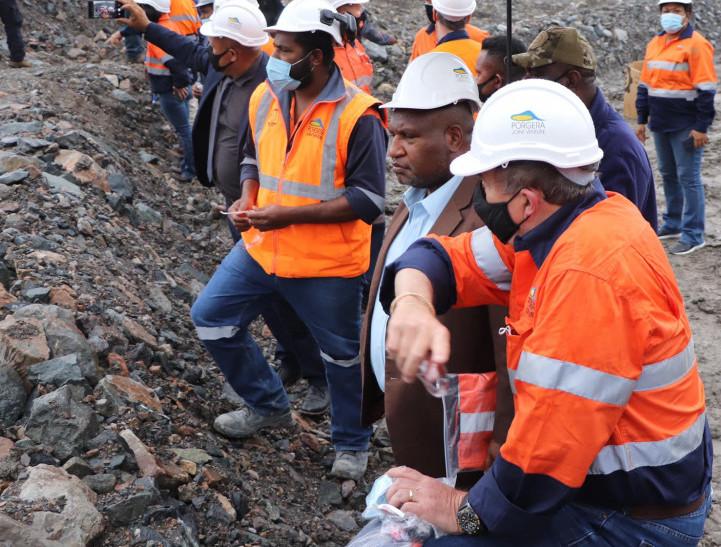 Porgera gold mine papua new guinea - Prime Minister James Marape Visist to Porgera Mine site