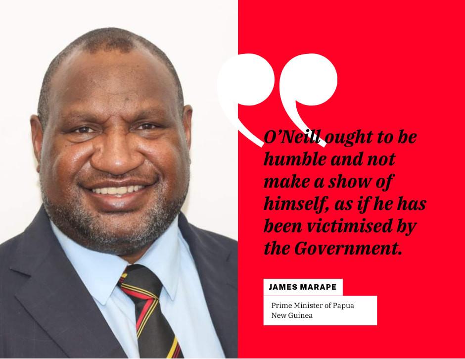 Prime Minister of Papua New Guinea, Hon. James Marape