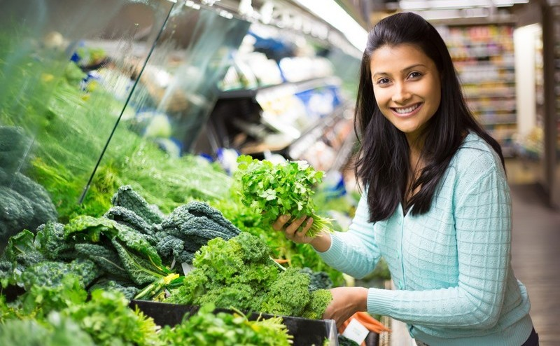 Leafy vegetables for brain power
