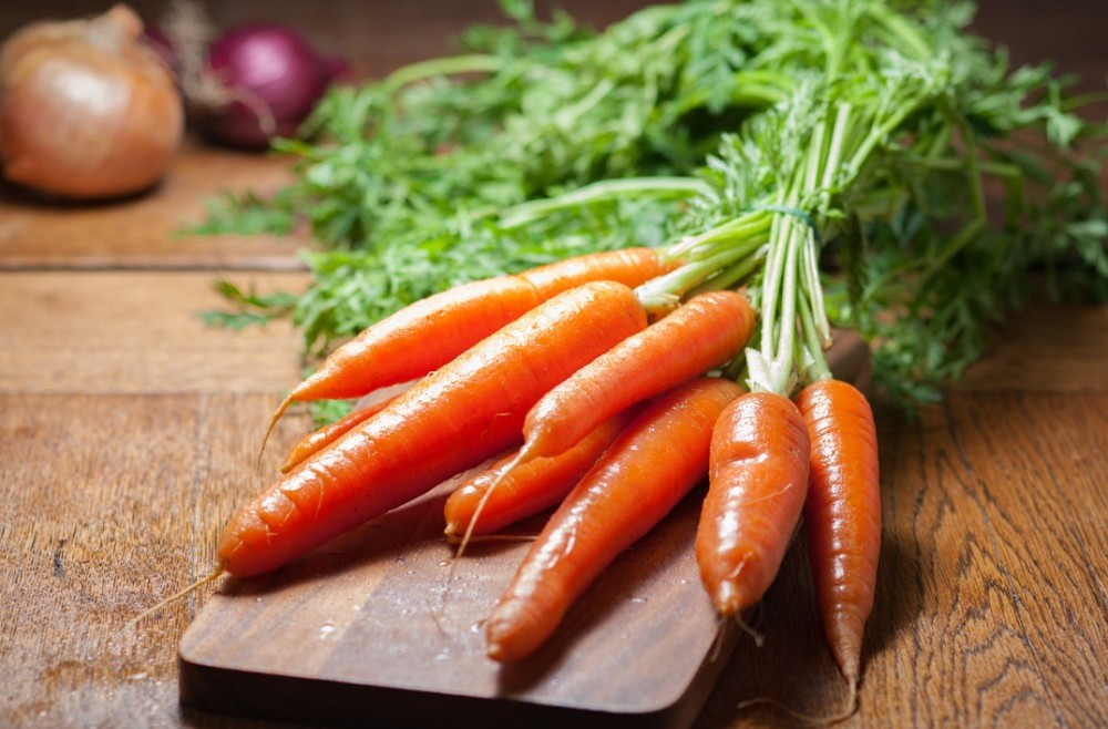 Carrots are great source of brain power!