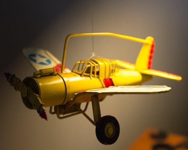 hanging model plane