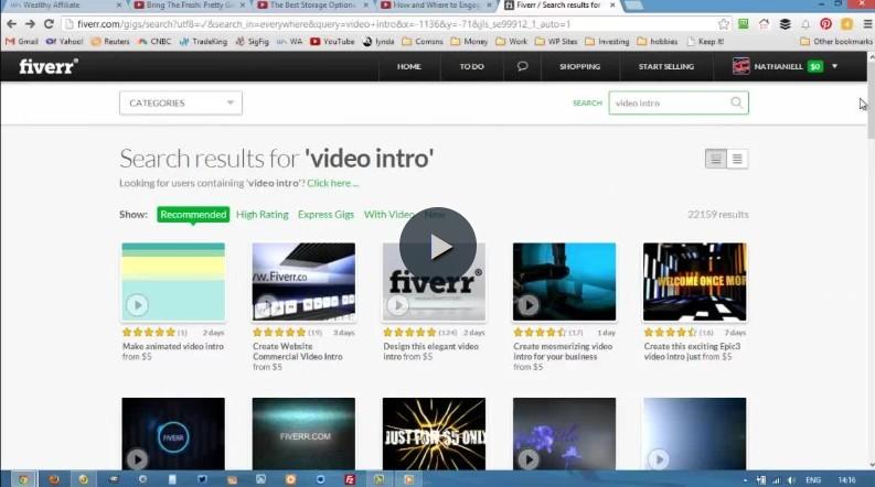 video branding fiverr