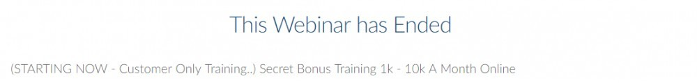 training webinar commission app