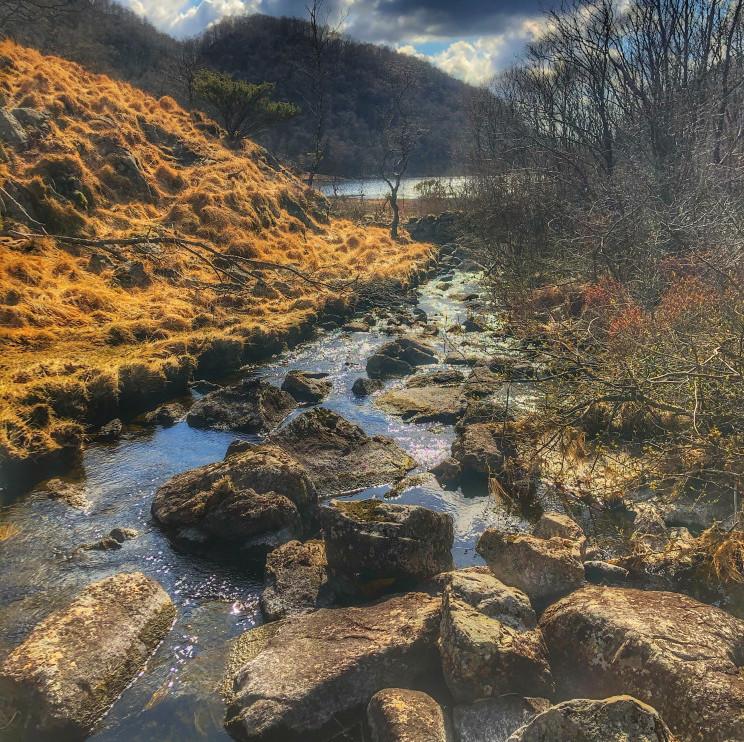 Urdåna river
