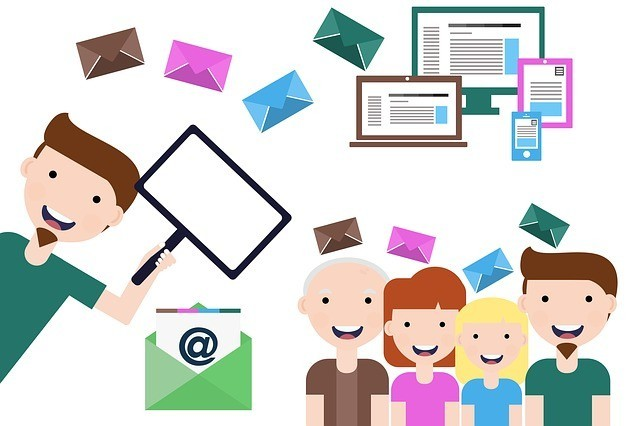 Creating free email lists for online marketing