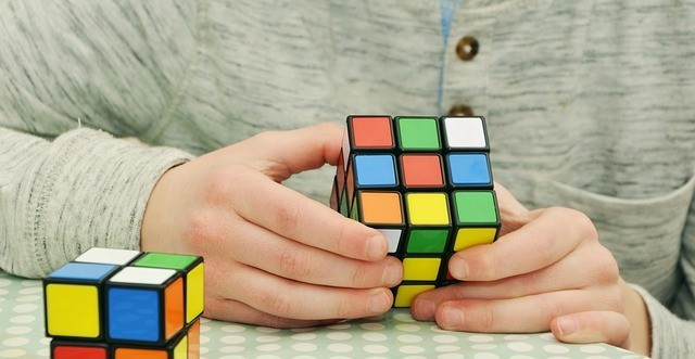 How to learn how to make money online-Rubik cube-Mastering the problem!