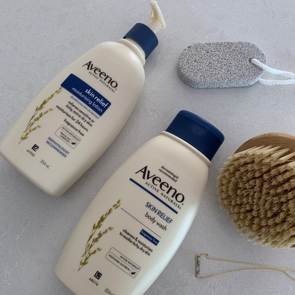 Aveeno Skin Relief Moisturising Lotion and Body Wash