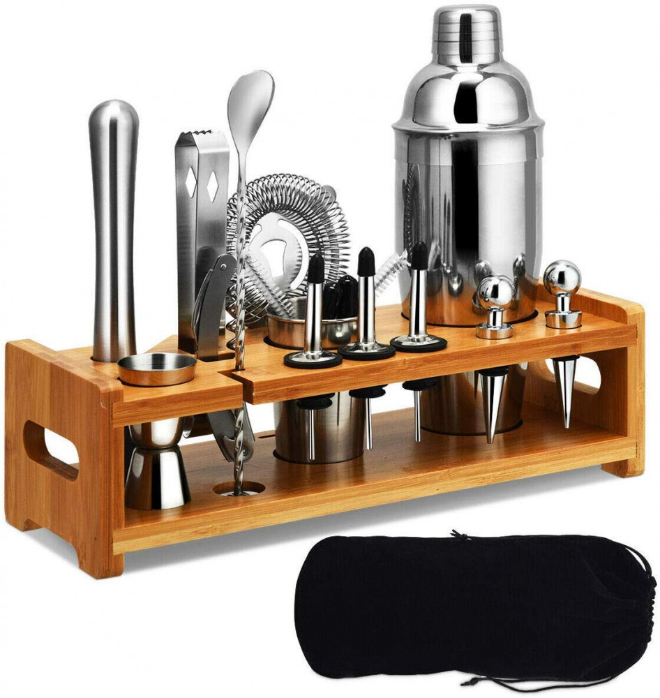 Stainless Cocktail Shaker, Cocktail Shaker Set, Stainless Steel Bartender Kit