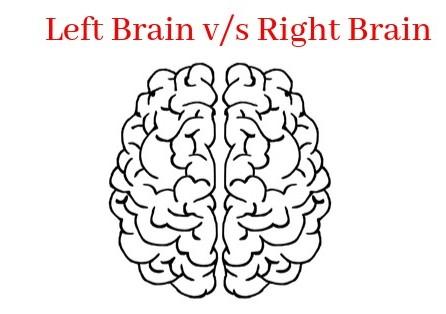 Left Brain v/s Right Brain