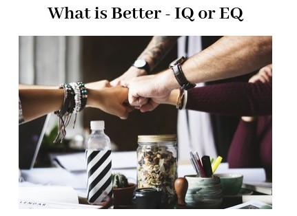 IQ or EQ