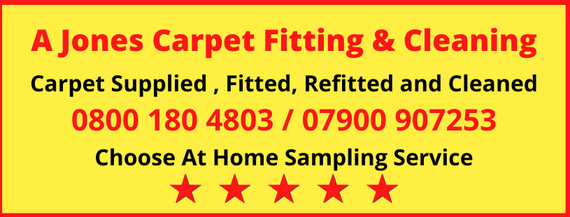 A Jones Carpet Fitting and Cleaning